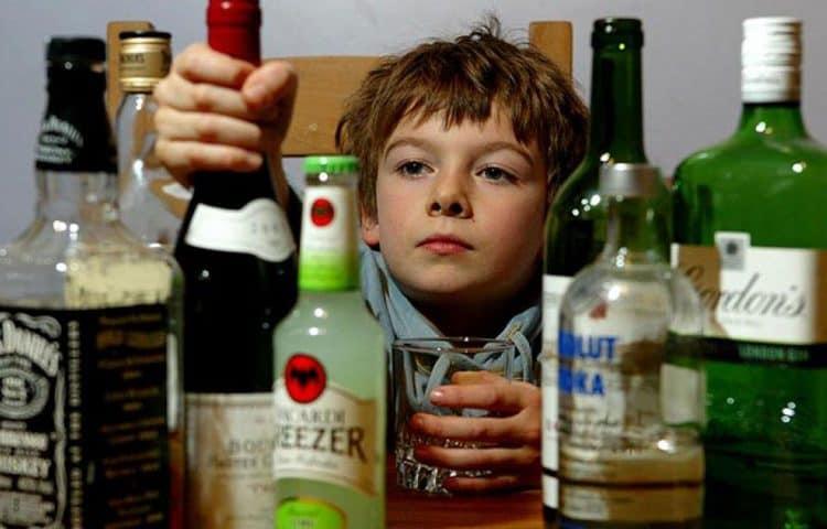 дети и спиртное