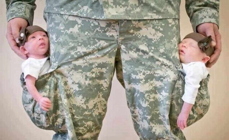 освобождение от армии по детям