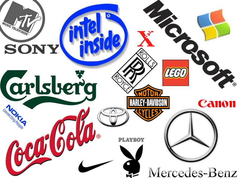 эмблемы товарных знаков