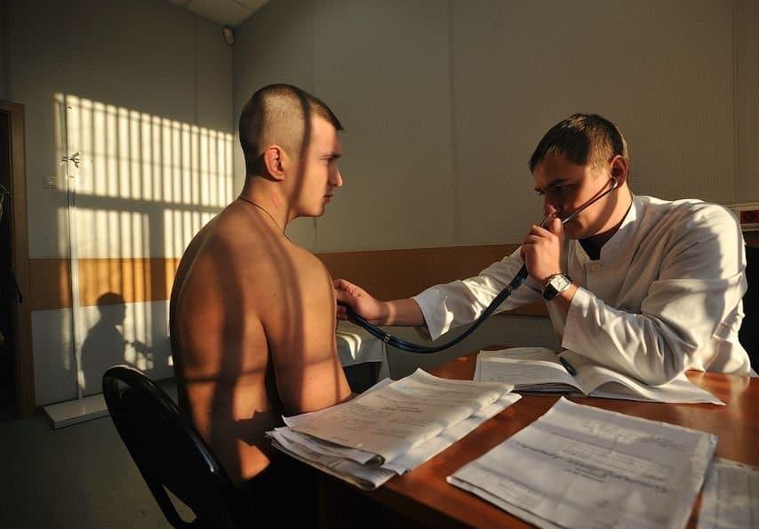 откос от армии по психиатрии