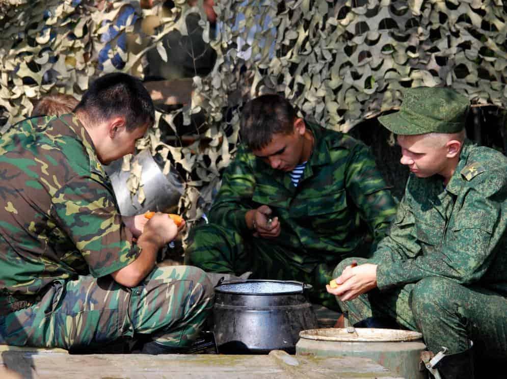 распорядок дня в армии