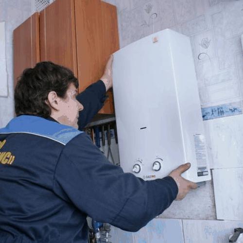Установка в частном доме газовой колонки