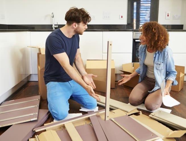 Низкого качества мебель