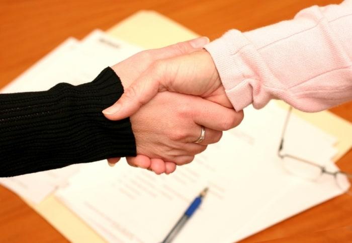 Правила заключения контракта