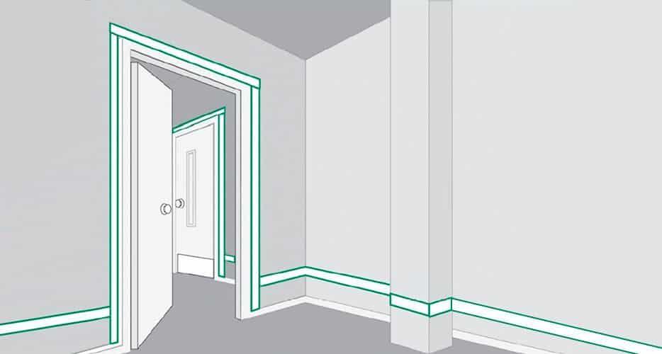 Правила установки двери