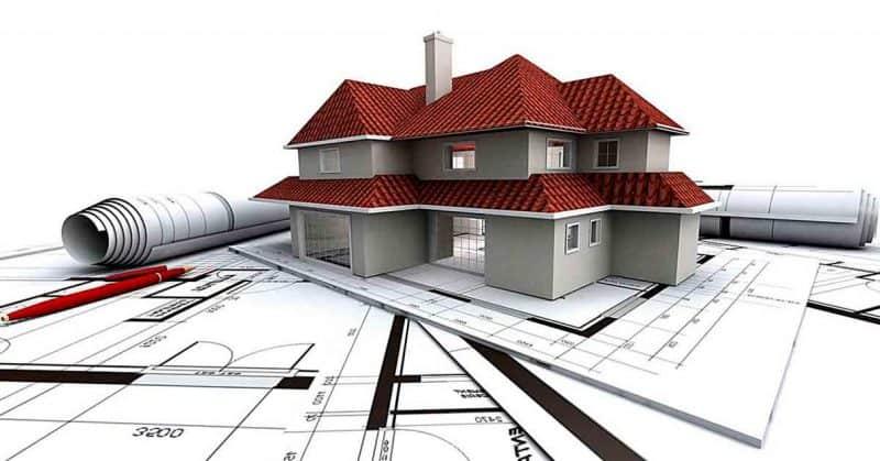 Оформление построенного дома