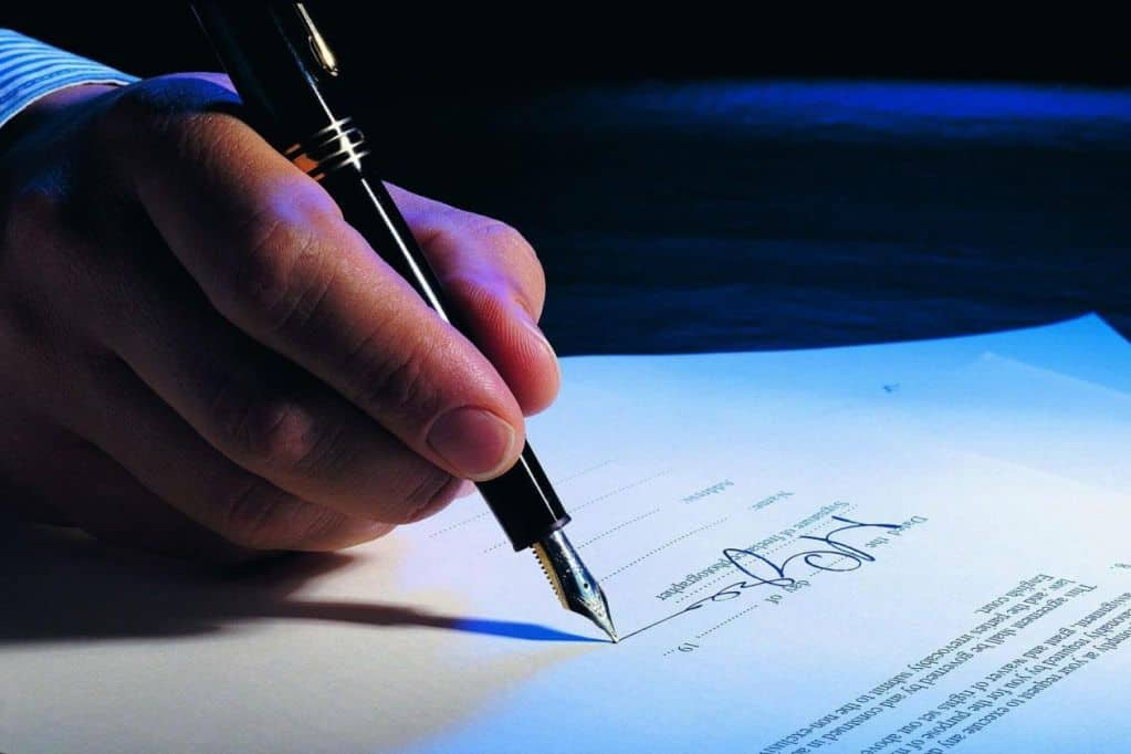 Цель подписания договоров