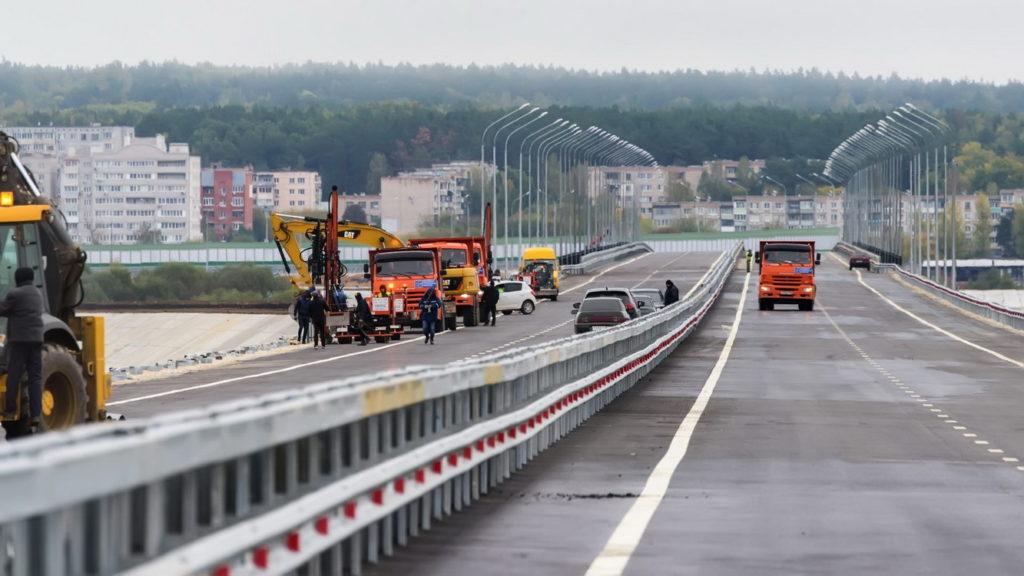 строительство дорожных полос