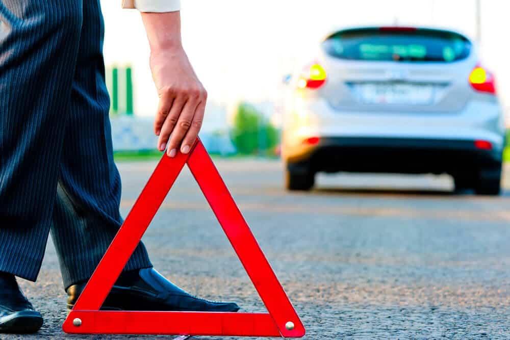 Что делать сразу после аварии?