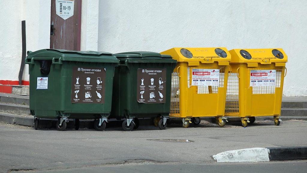 Разделение мусора по категориям