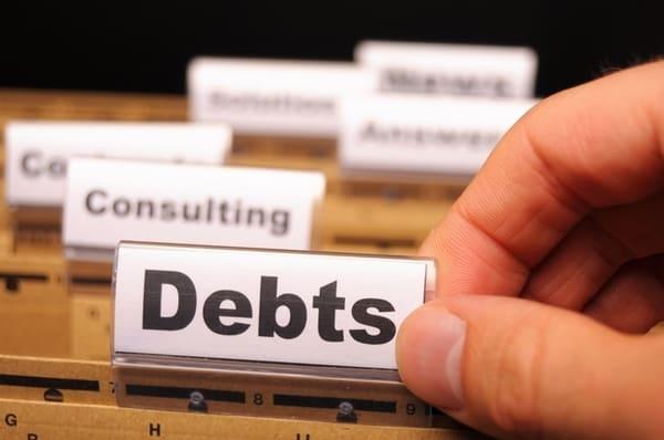 виды задолженности