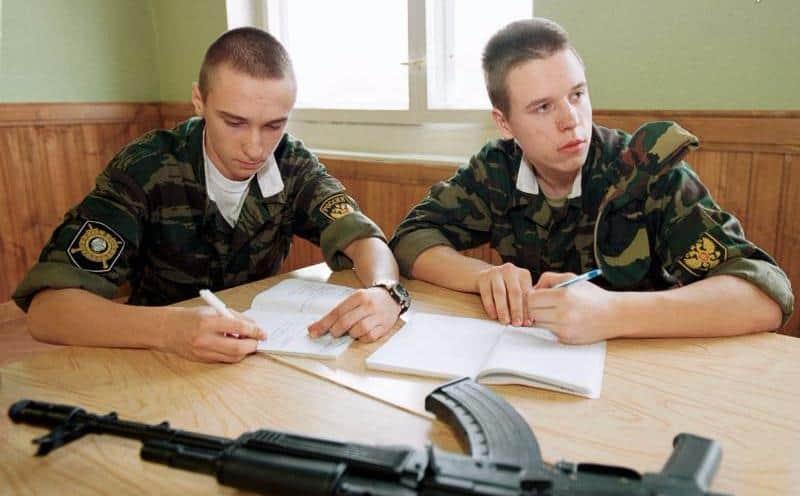 работа после армии