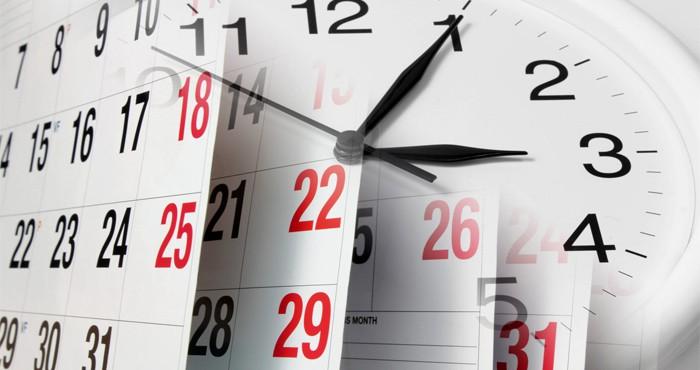 Дата оформления каникул