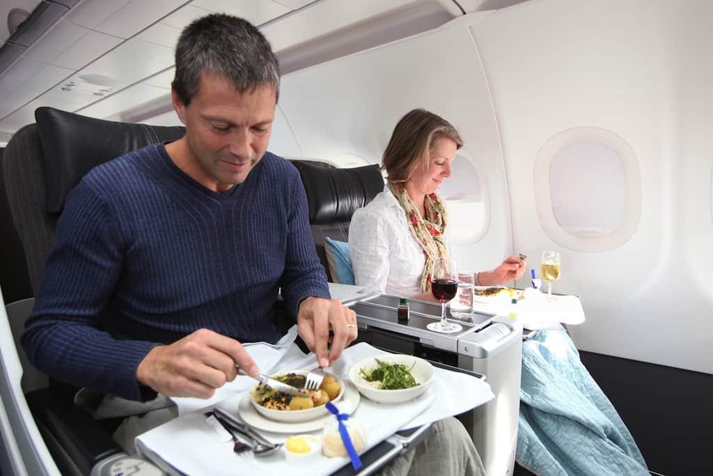 Еда в самолет