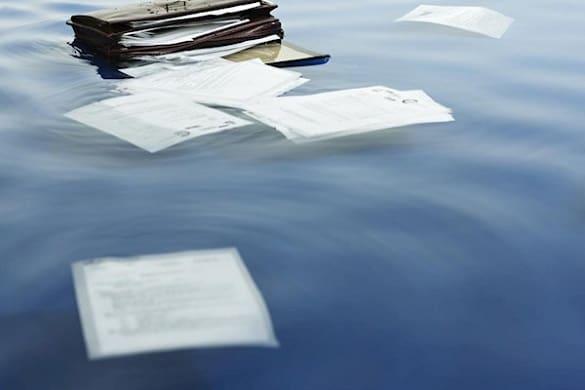 испорченные документы
