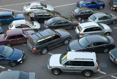 Заблокирован выезд с парковочного места