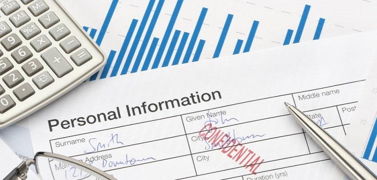 Что можно отнести к персональным данным?