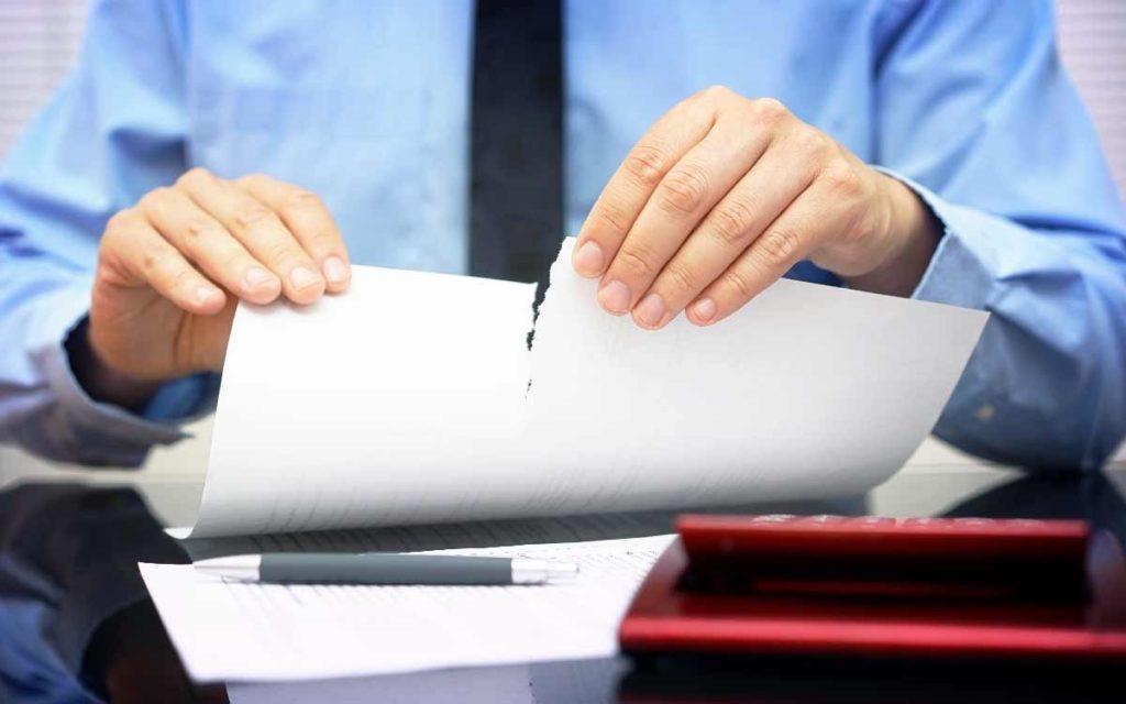 Последствия признания недействительности договора