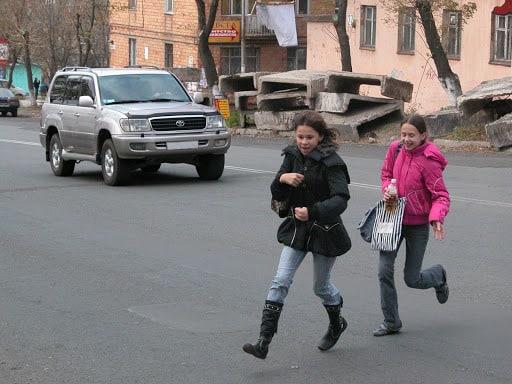Доказательство вины пешехода